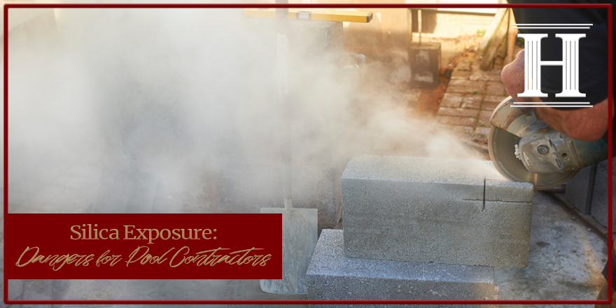 Silica exposure from concrete or masonry