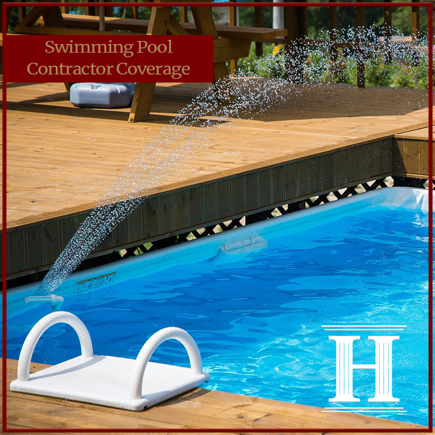Swimming Pool Contractor Coverage