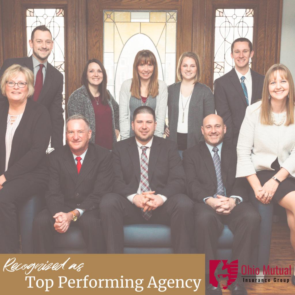 Ohio Mutual Award - Top Performing Agency