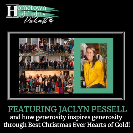 Episode 2: All Things Best Christmas Ever with Jaclyn Pessell   Hometown Highlights Podcast