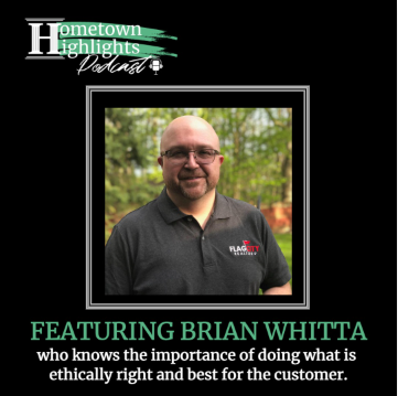 Episode 5: Real Estate, Kiwanis Club & Band with Brian Whitta | Hometown Highlights Podcast
